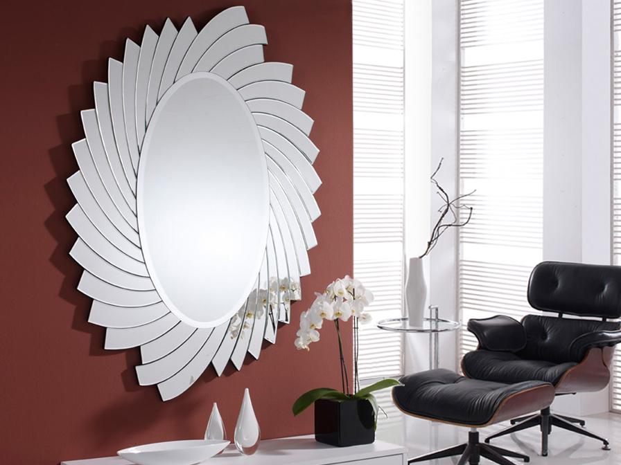 Helios espejo Ovalado
