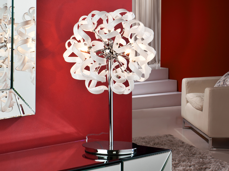 Nova Table Lamp 3L white