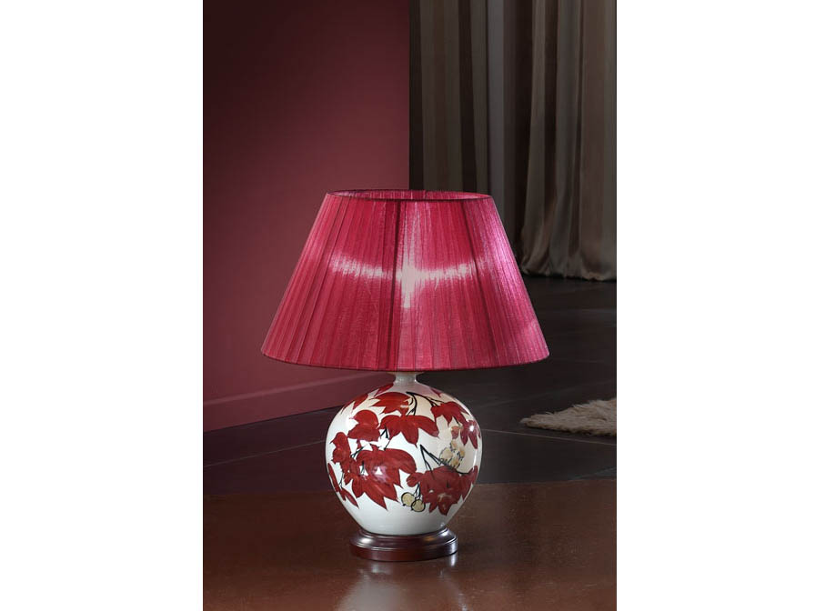 ceramics Table Lamp with lampshade