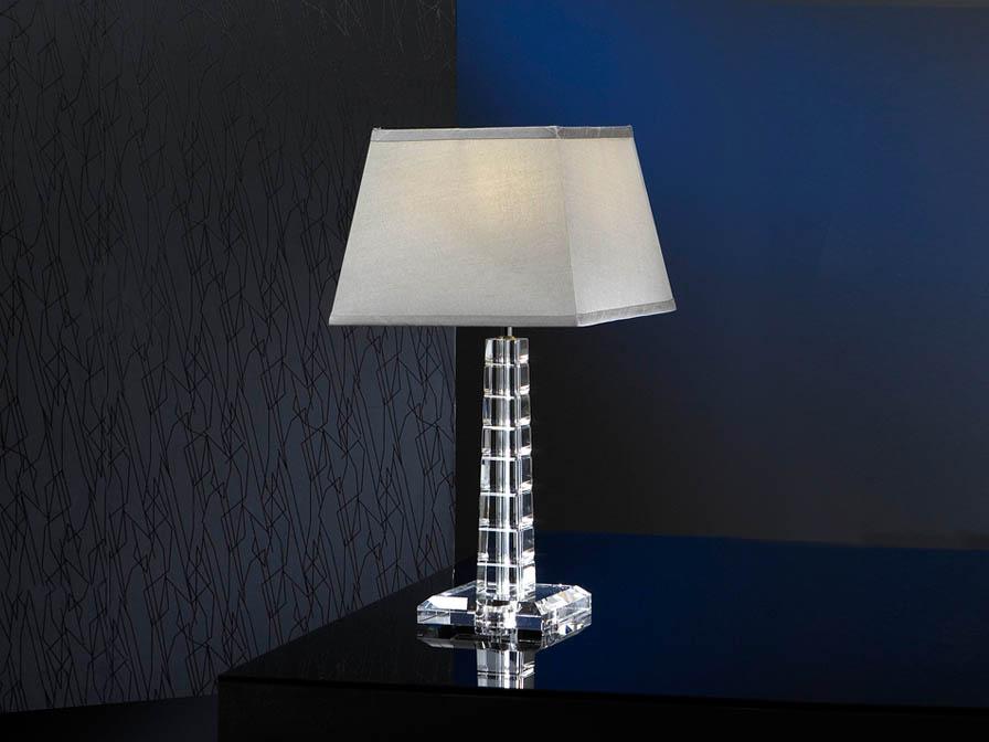 Corinto Table Lamp Glass Small 1L