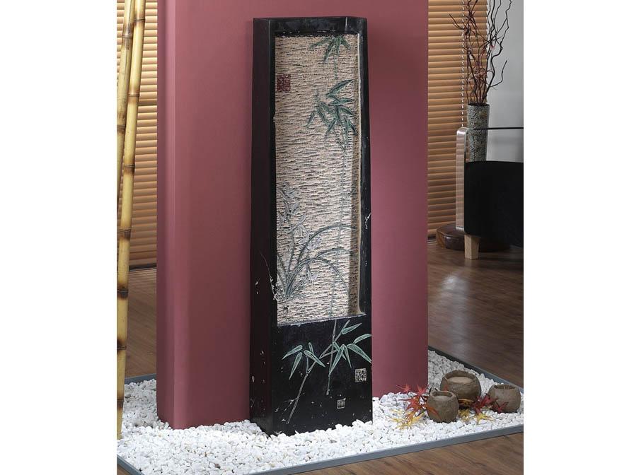 Fuente Fengshui con bambu