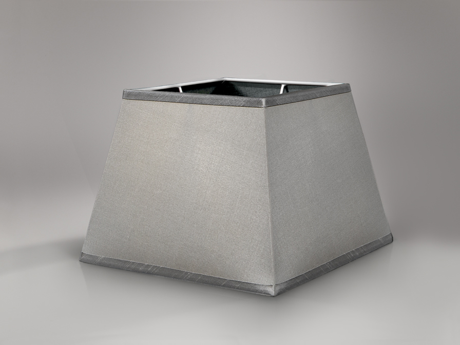 Accessory lampshade square Grey
