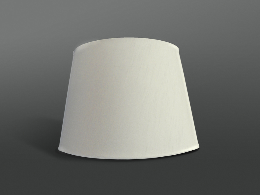 lampshade conical Cream ø36x27