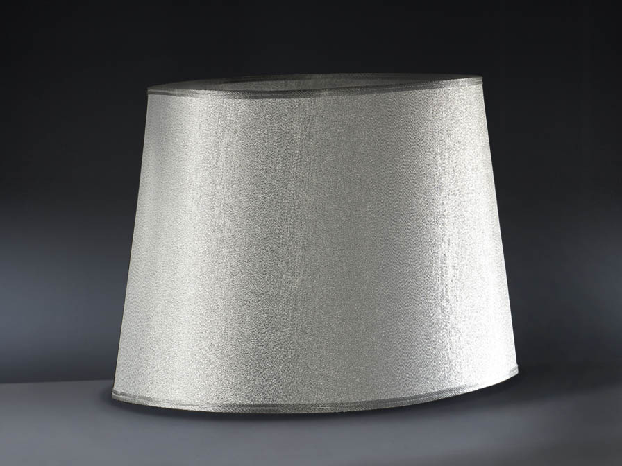 Minos lampshade oval Silver