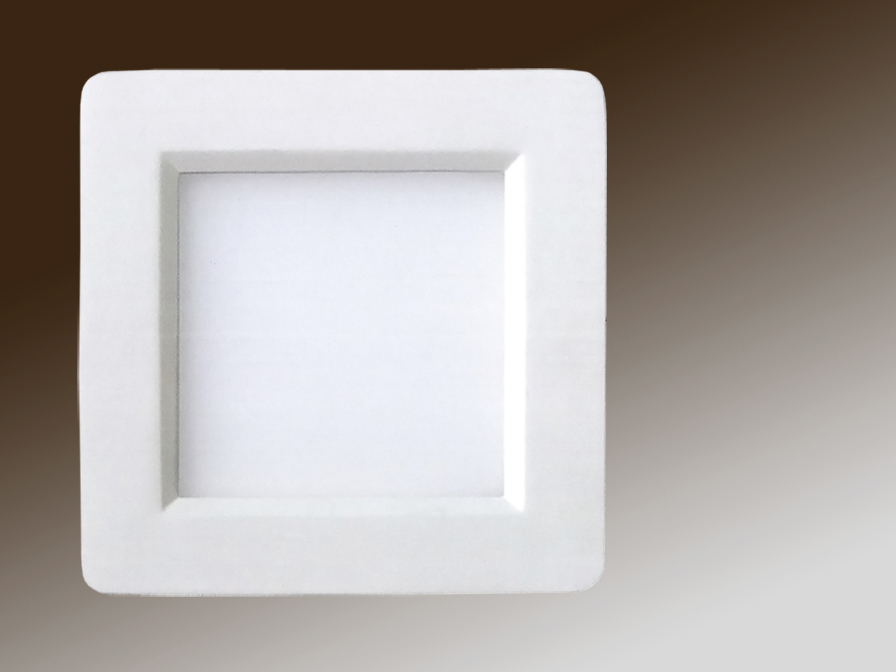 Foco Square + LED 6W light Cálida