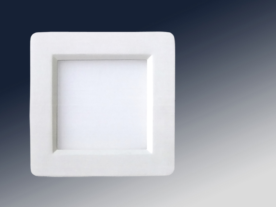 Foco Square + LED 6W light white