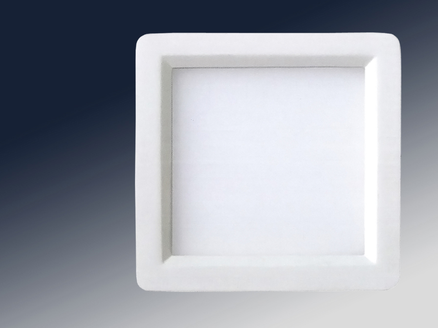 Foco Square + LED 18W light white