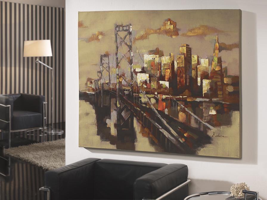 Cuadro acrylic San Franciso 120X90