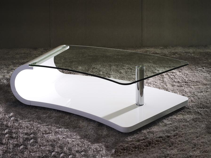 Duna coffee table colour white