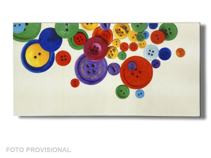 Acrílico buttons 60x120