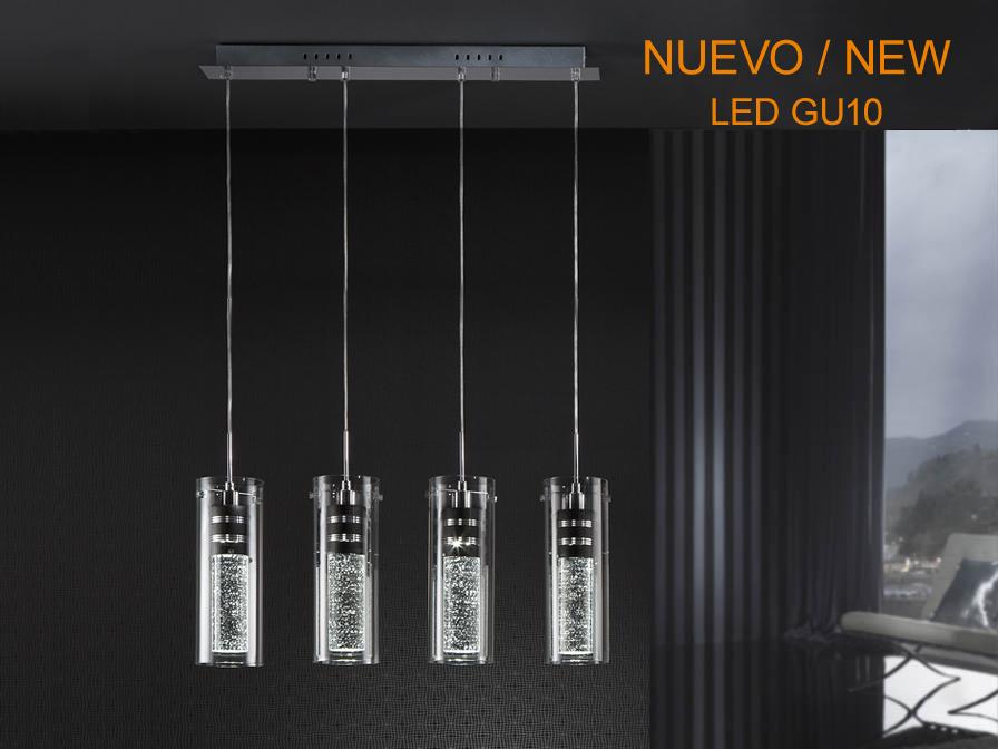 Bubble Pendant Lamp 4xGU10 LED 5W 6500K