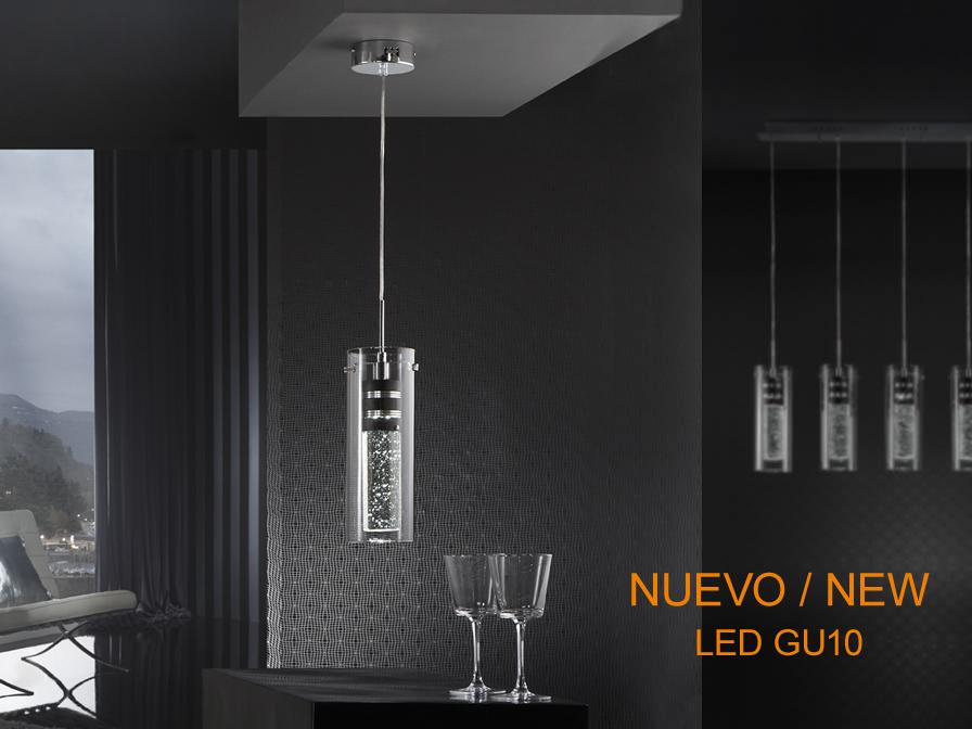 Bubble Pendant Lamp 1xGU10 LED 5W 6500K