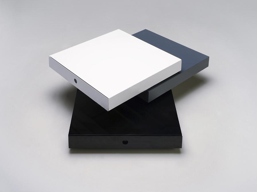 Cube table basse B/G/N