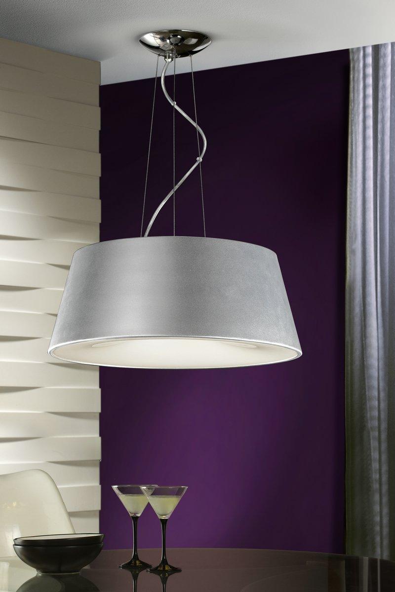 Zone Pendant Lamp 4L Silver