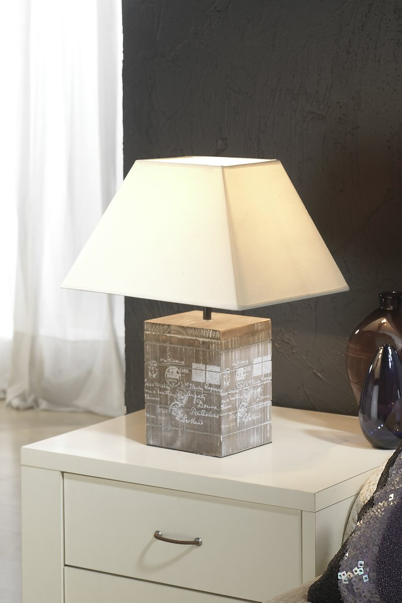 lampshade Beige 26x26x16