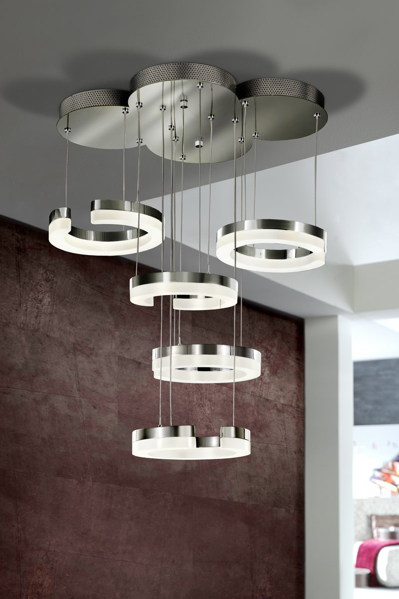 On Lamp LED 5 lampshades CR