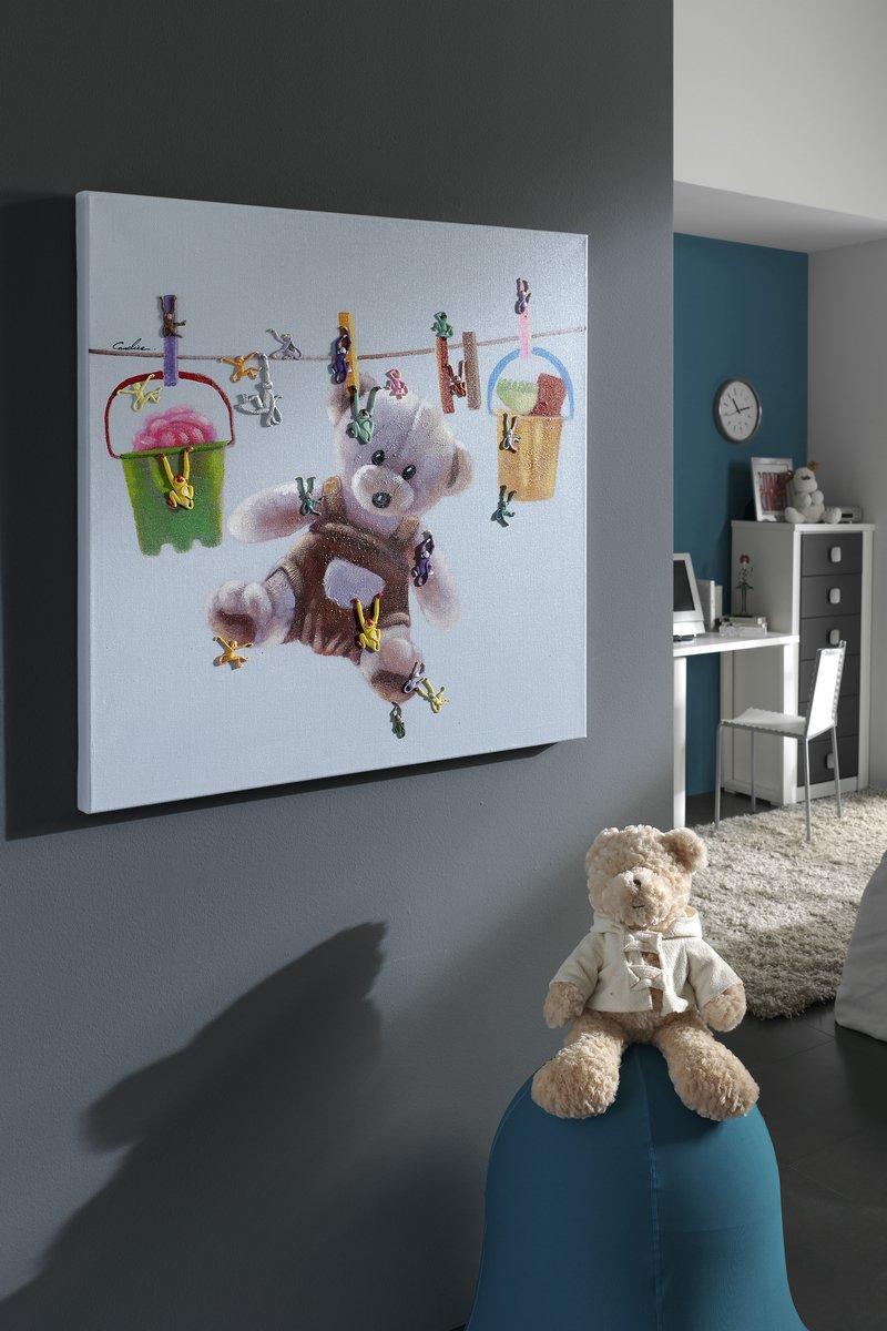 Acrílico Teddy Bear 80x80