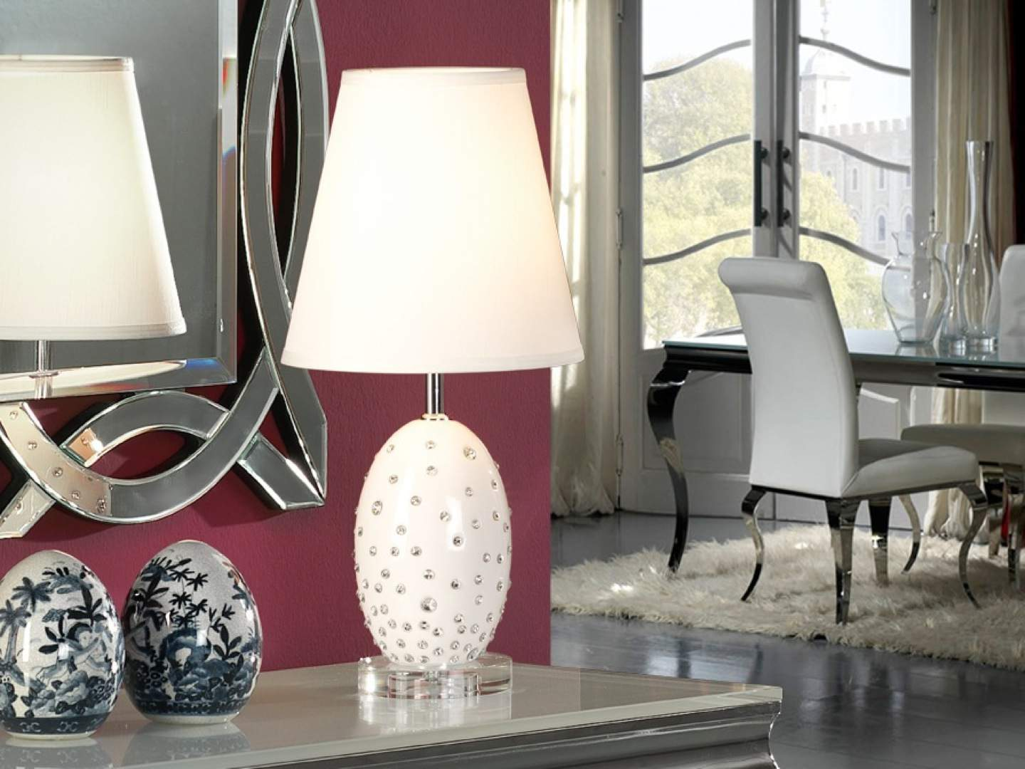 Vera Table Lamp of Ceramica
