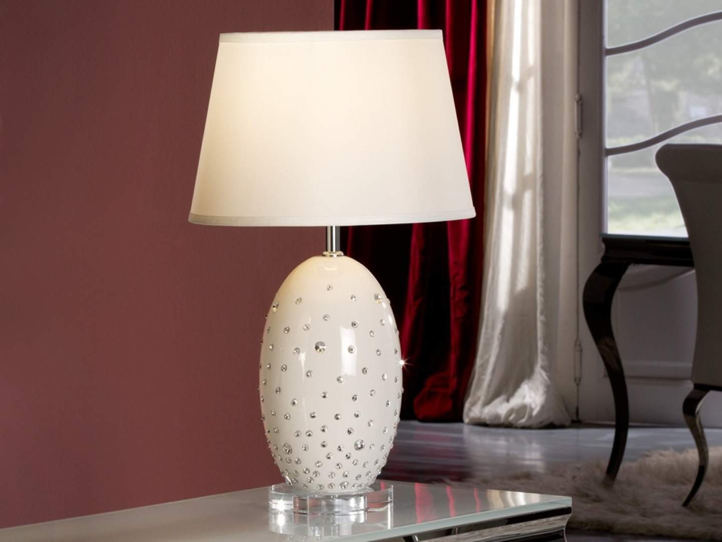 Vera Table Lamp of Ceramica Large