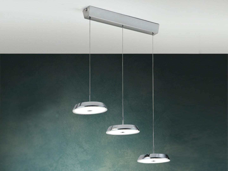 Beta 3 Pendant Lamp LED 3x10w Chrome
