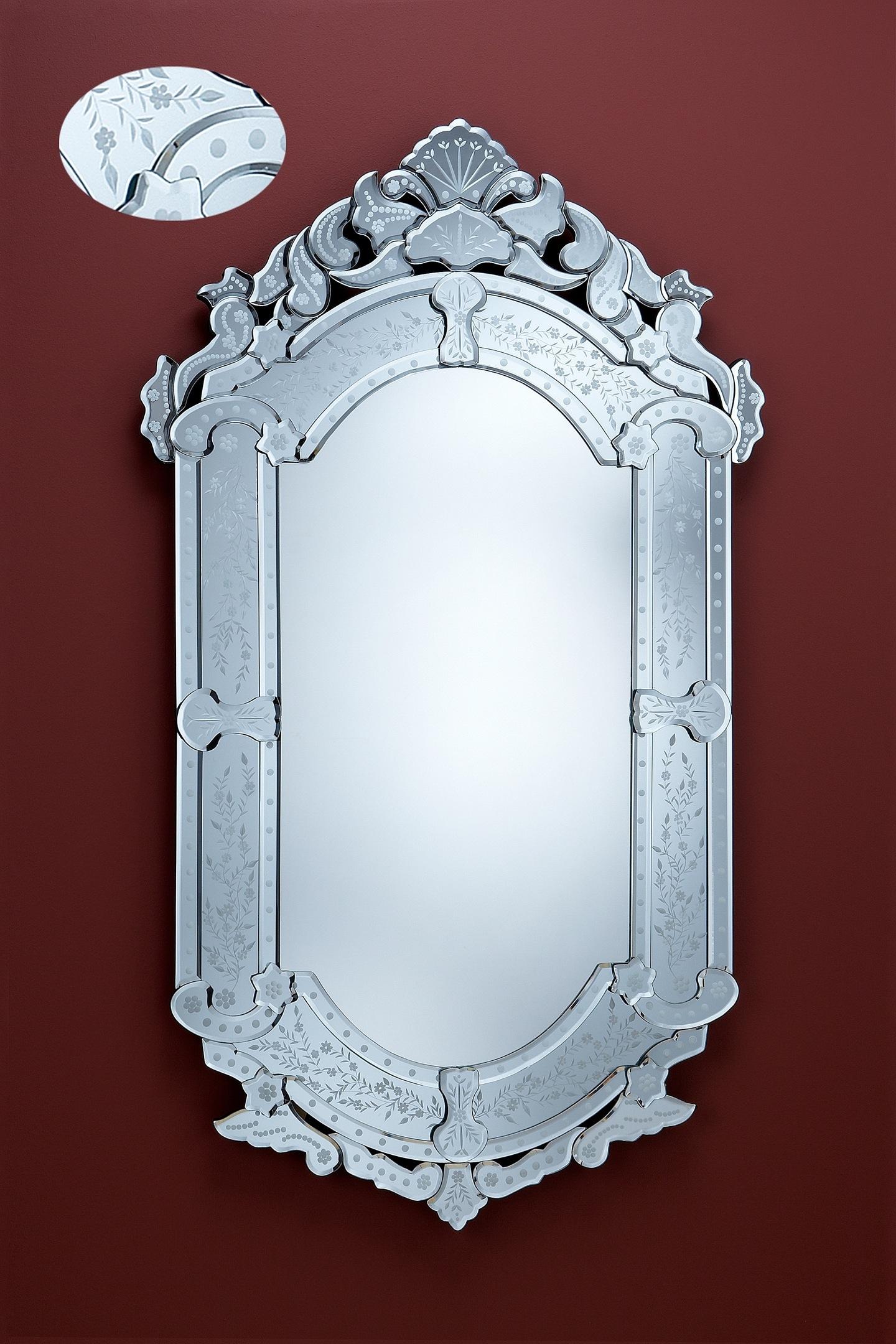 Imperio espejo Plata 70x121cm