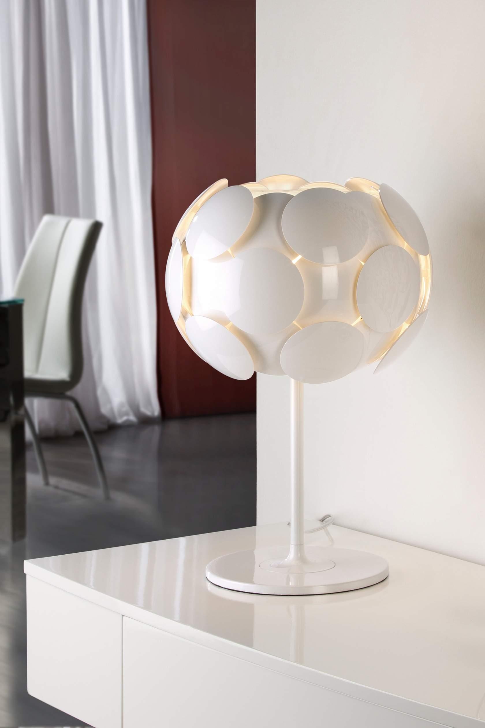 Egea Lampe de table ø31 E27 LED 10W blanc