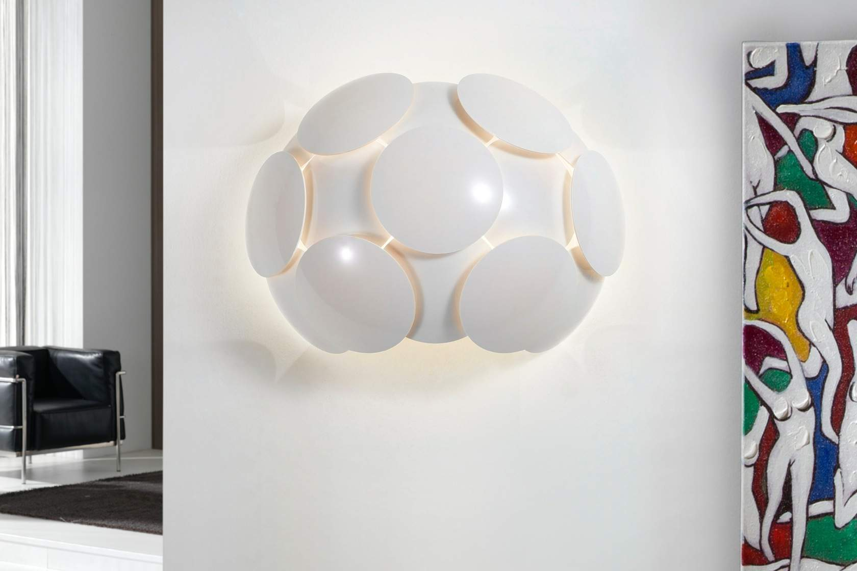 Egea Wall Lamp white