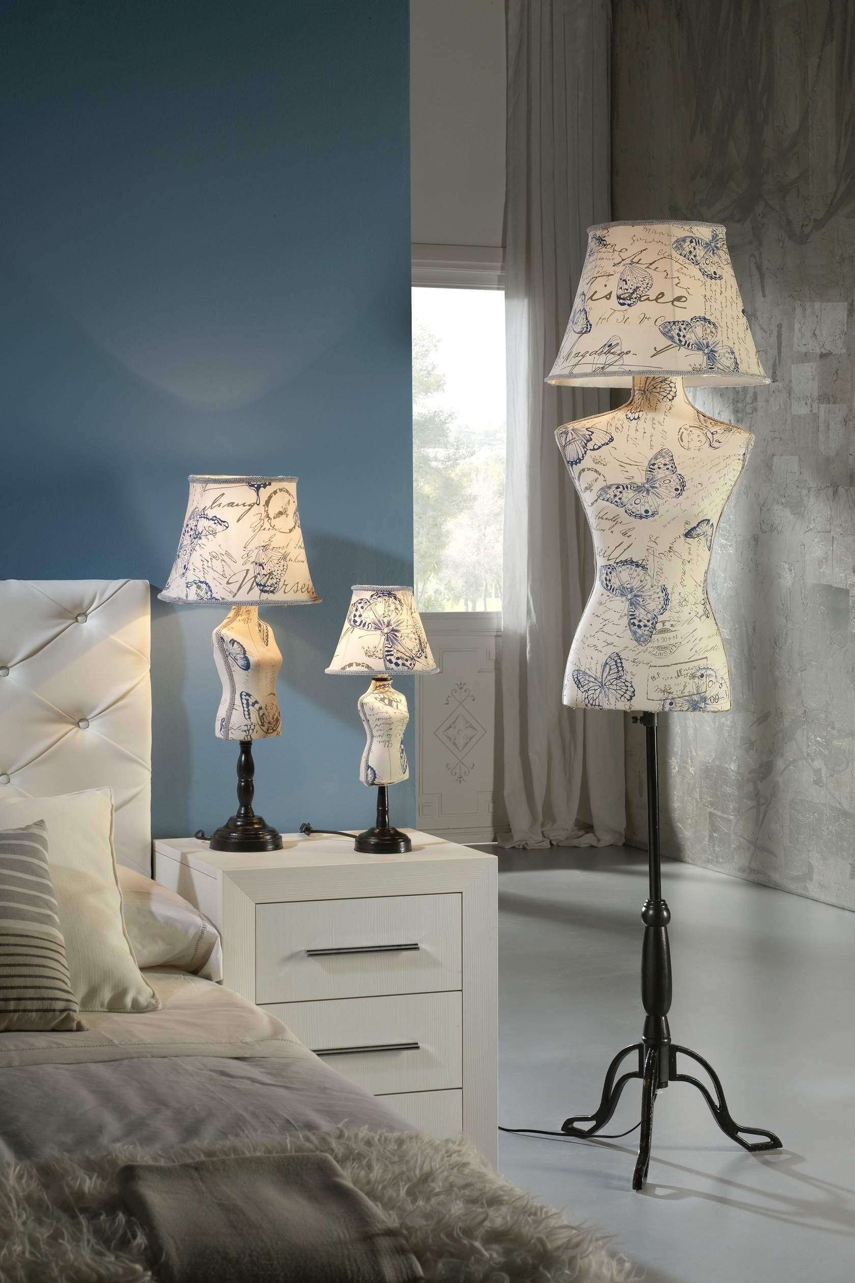 Vogue lámpara de Pie Butterfly