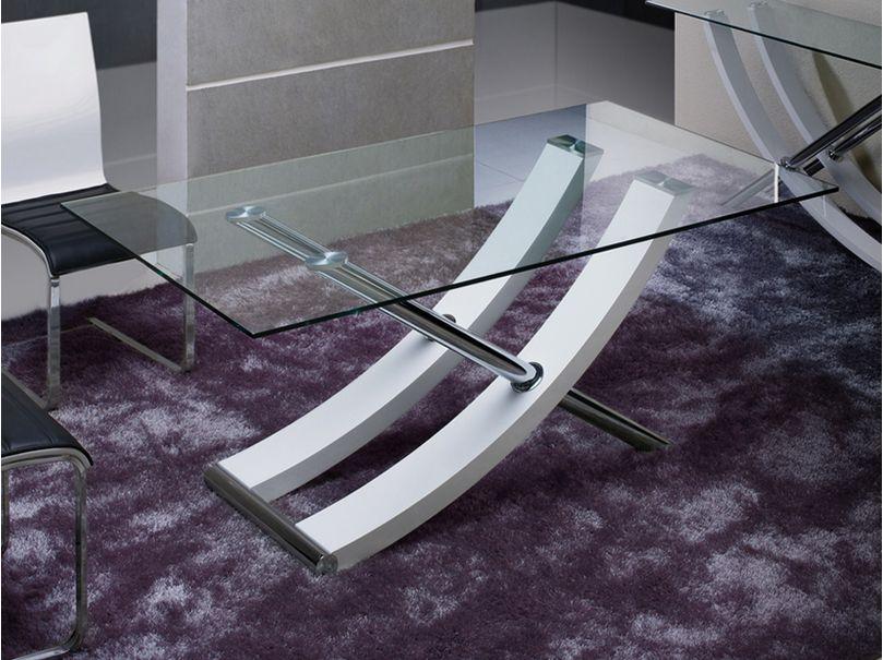 Ulises mesa de comedor blanca 180cm