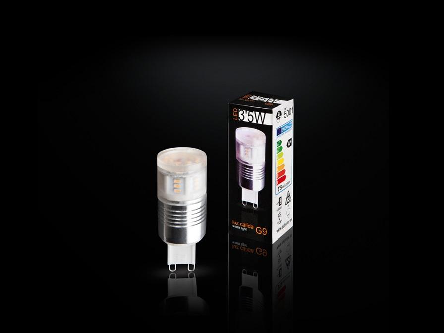 Bombilla LED G9 3000K 3,5W