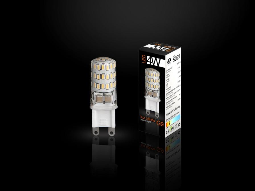 Bombilla LED G9 3000K 4W