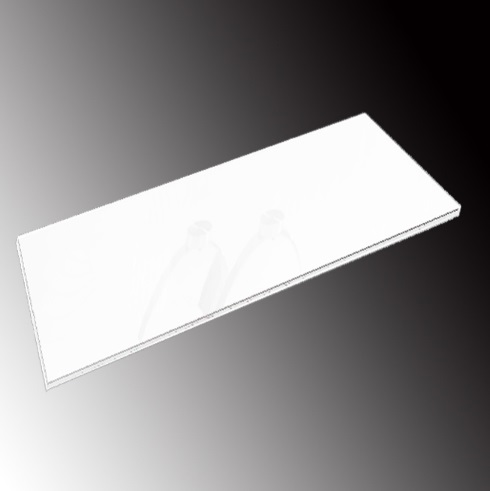 Accessory Glass Pintado white 40x112