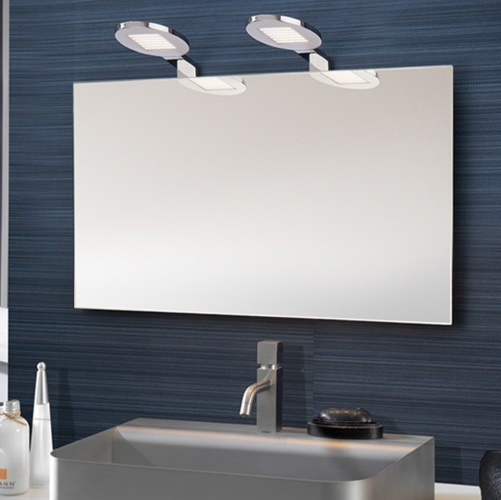 Wall Lamp LED for Mirrors 5W LED Chrome