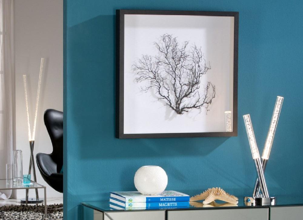 Coral cuadro negro 60