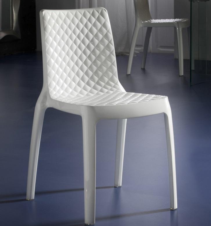 Dana chaise 83x43cm (min. 2 uds) Blanc