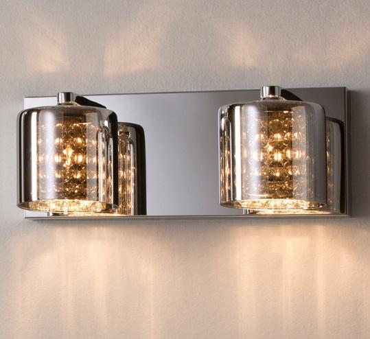 Denise Aplique 2xG9 LED 6W Cristal espejado
