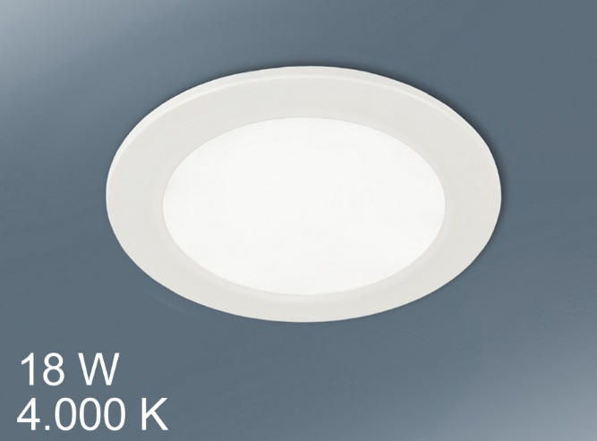 Downlight LED Runde 18W licht weiß