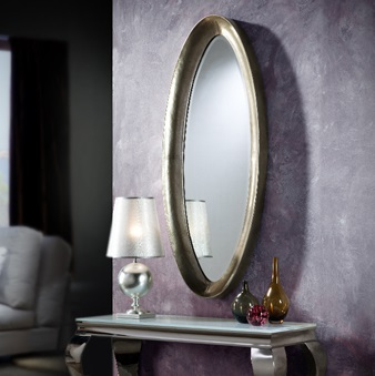 Ebla espejo Mediano 55,5x140cm Plata