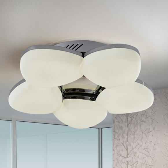 Ikal ceiling lamp LED 36W - Chrome