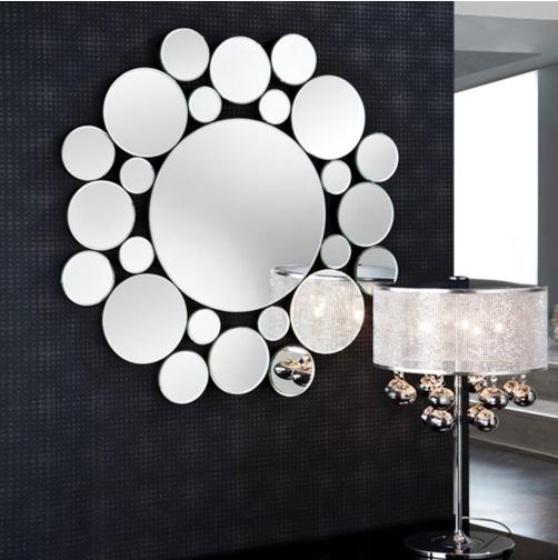 Leila mirror Round ø80
