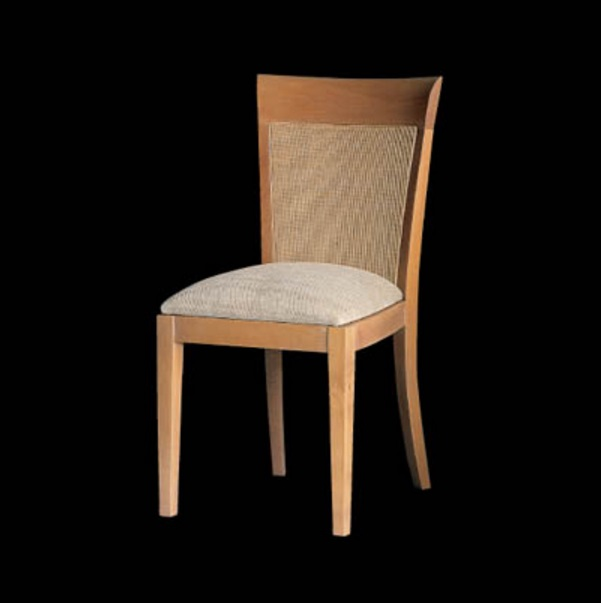 Loto chair 92x47cm - bleached oak