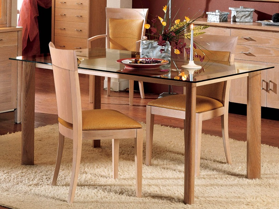 Loto table oak Blaqueado