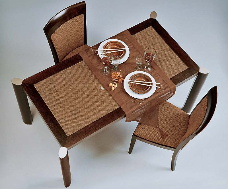 Loto table de comedor Wengue