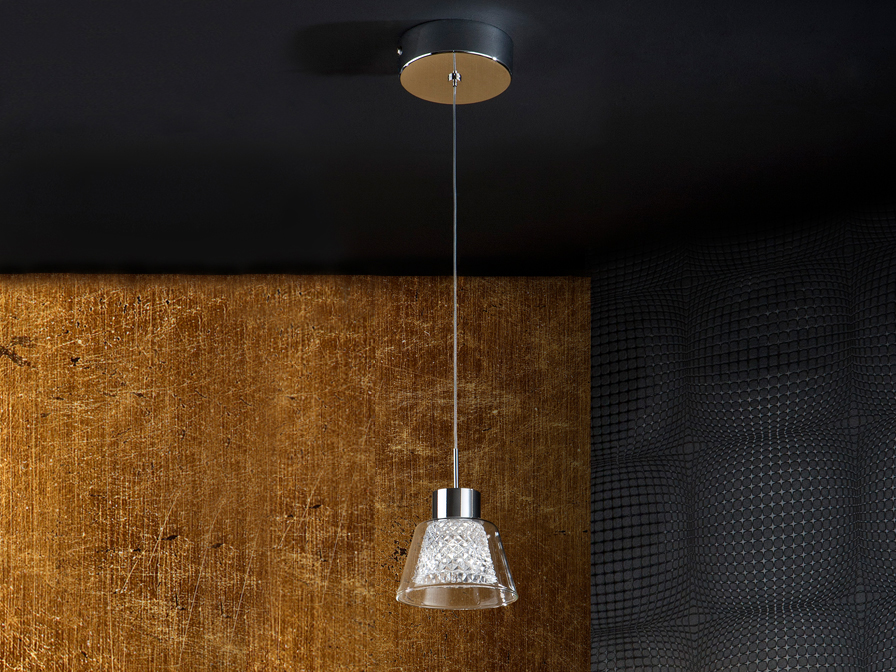 Lucia Pendant Lamp 5W LED Chrome