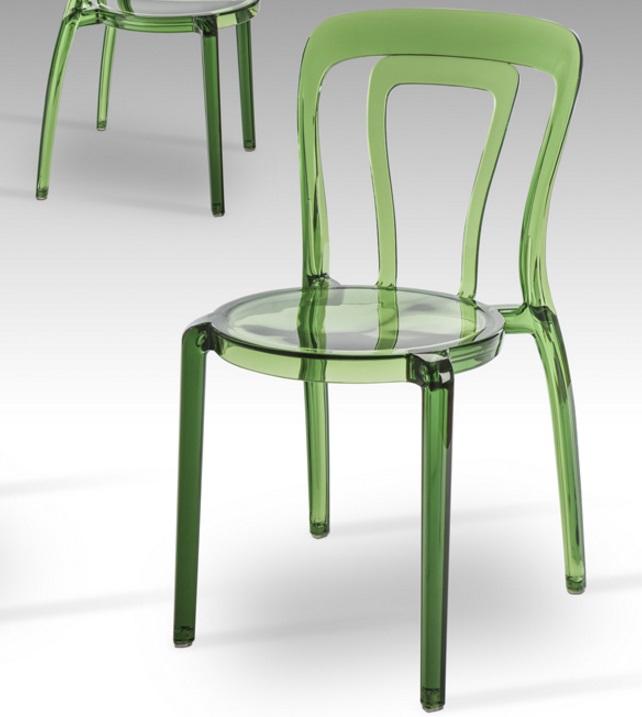 Mati chaise Vert Transparent