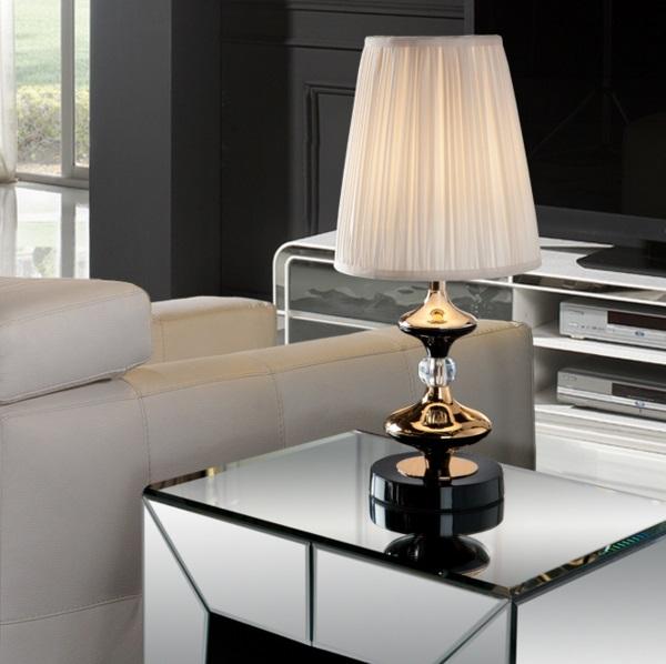 Oliver Table Lamp pequeña Golden E27 LED 10W