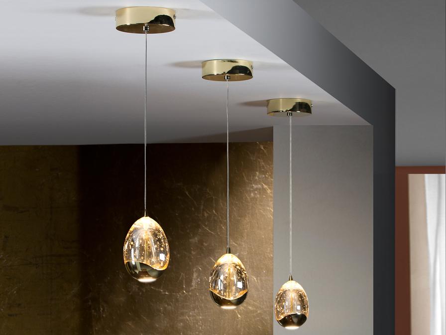 Rocio Lamp Pendant Lamp 14x12cm LED 5W - Gold