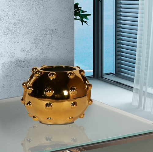 Sunset planter pequeño 12x16cm - Metallic Gold