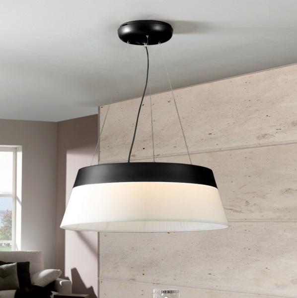 Swing Lámpara Colgante negro 69 diámetro LED