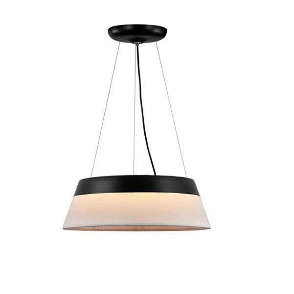Swing Lámpara Colgante negro 55 diámetro LED